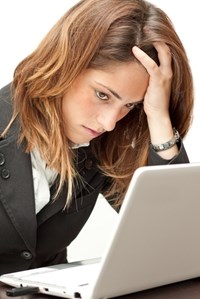 College students making decisions that might impact credit scores