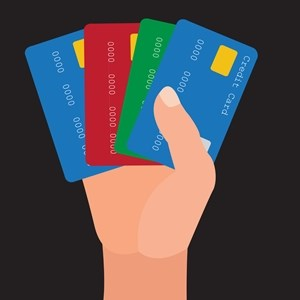 Lenders offering different credit card options