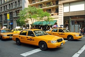 Taxi cabs benefiting from mobile payments