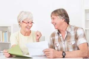 What happens when debt collectors have to contact the retired?