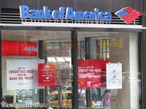 Bank of America nearly doubles its write-down on credit cards