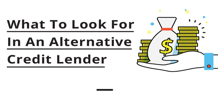 Infographic: What to look for in an alternative lender